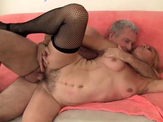 Mature Blonde Cristine Ruby Takes a Hardcore Pounding
