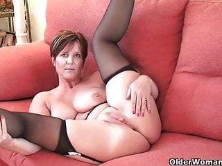 Hottest British grannies still need their daily orgasm