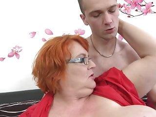 Granny SSBBW fucked by young boy