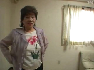 65 Asian Granny Bath
