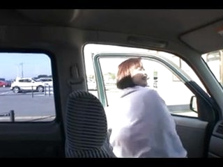 54yr old Granny Saeko Katano Creamed Outside (Uncensored)