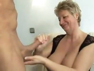 Hot Granny With Big Tits Fucked