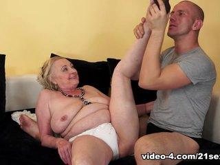 Sila in Cock-obsessed Grandma Movie