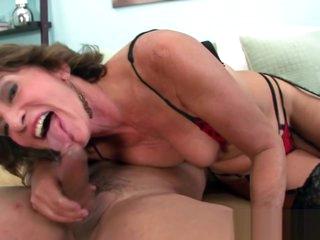 Big Ass Gilf Riding Dick In Anal Porn