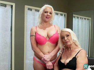 Vikki Vaughn is a mom, and Veronica is her daughter! - 60PlusMilfs