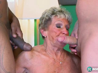 Granny Gets Two! - 60PlusMilfs