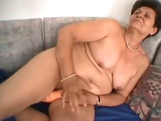 Fabulous amateur Mature, BBW porn clip