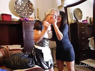Maid Caught Stealing - Bondage Scene