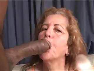 67yr Horny Mature x Big Black Cock