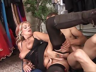Exotic pornstar in incredible blonde, facial porn video