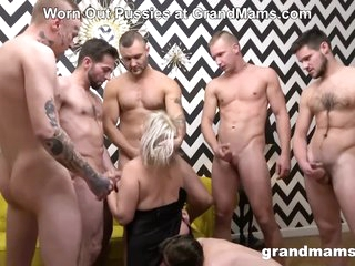 Mature Monique In Her First Gangbang